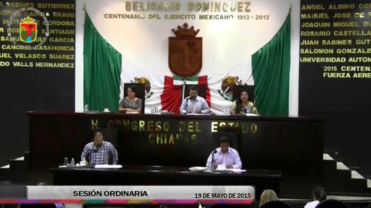 Sesión Ordinaria 19 de Mayo de 2015