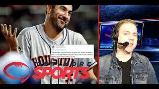 Justin Verlander's Burner Account Exposed! Altuve/Bregman Lying About the Astros Using Buzzers?
