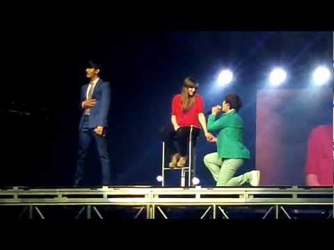 [fancam] SMTown LA 2012 - CHANGMIN & KYUHYUN - Just the Way You Are