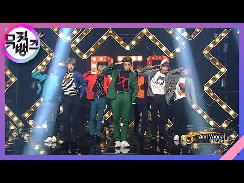 MUSIC BANK 뮤직뱅크 - BTS 방탄소년단 - Am I Wrong.20161014