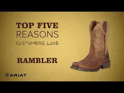Top 5 - Ariat Rambler Boot