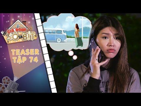 Gia đình sô - bít | Teaser tập 74: Thiên Thanh khóc hết nước mắt, kéo vali ra đi vì bị ba mẹ hất hủi