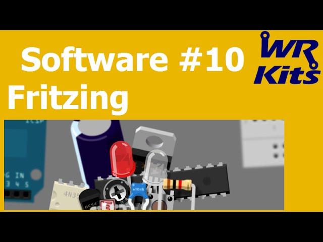 DESENHO EM PROTOBOARD - FRITZING | Software #10