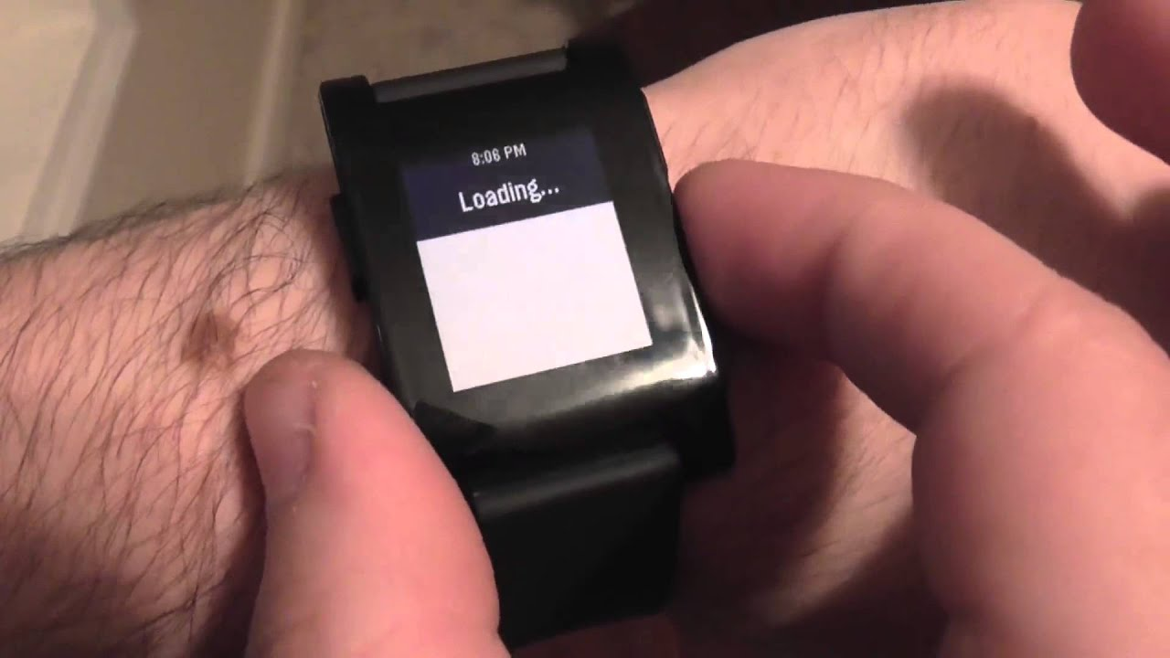 SmartWatch Pro For Pebble - Twitter, Calendar, Location, And More! - Smashpipe Tech