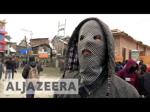 Anti-India protests turn violent in Kashmir