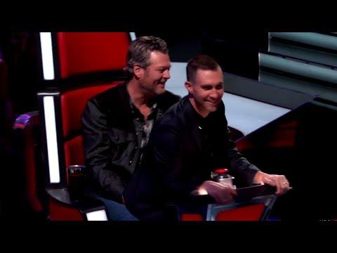 Adam Levine & Blake Shelton | The Voice | crack!video