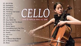 Top Cello Covers of Popular Songs 2019 || Best Instrumental Cello Covers All Time