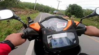 Ride to Winter Garden Betong, Thailand