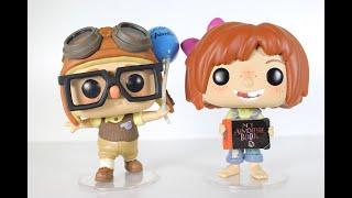 Disney Up CARL & ELLIE Funko Pops review