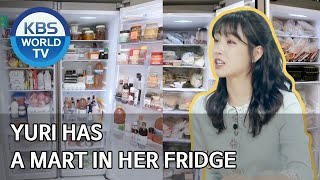 Yuri has a mart in her fridge [Stars' Top Recipe at Fun-Staurant/ENG, IND/2020.04.21]