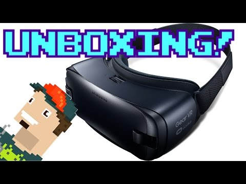 UNBOXING GEAR VR 2016