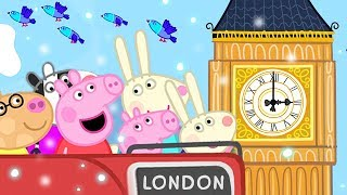 Peppa Pig English Episodes | Christmas in London 🇬🇧 | Peppa Pig Official | 4K