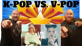 KPOP VS VPOP REACTION VIDEO