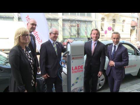 Santander unterstützt die Mobilität der Zukunft