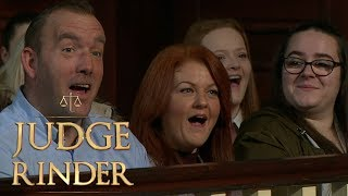 Courtroom in Shock at Claimant's Explicit Voicemail | Judge Rinder