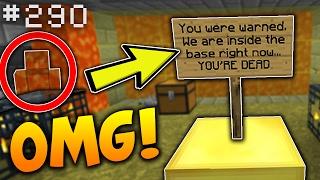 SOMEONE IS INSIDE MY BASE... | Minecraft Factions (SaiCoPvP) #290