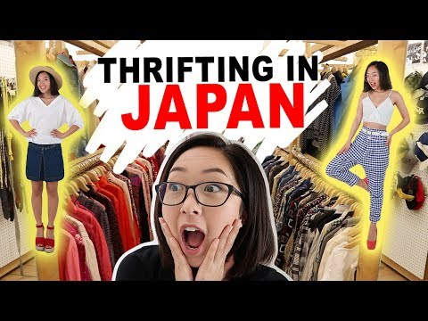 JAPAN THRIFT HAUL + EXPERIENCE | Coolirpa