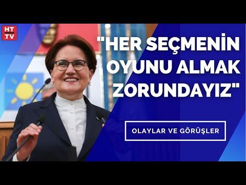 """Meral Akşener: """"İYİ Parti, HDP üzerinden test edilir oldu"""" – Olaylar ve Görüşler"""