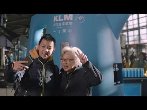 "KLM presents: ""A bottle of warmth"""