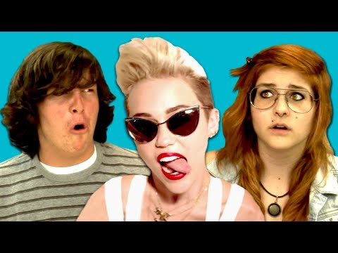 Baixar Teens React to Miley Cyrus - We Can't Stop