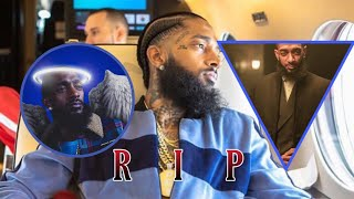 NIPSEY HUSSLE: Death being shot six times outside his clothing store in LA.