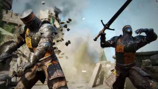 For honor disponible sur ps4 :  bande-annonce