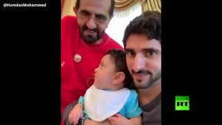 فيديو لحاكم دبي ينتشر على نطاق واسع     -