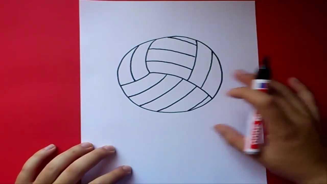Cuánto Pesa El Balón De Básquet Hombres Mujeres Y: Como Dibujar Un Balon De Volleyball Paso A Paso