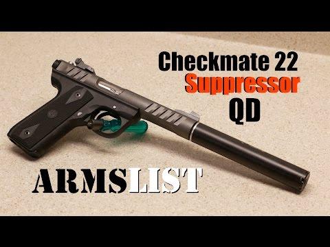 Checkmate 22 QD Suppressor
