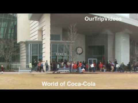 Pictures of Atlanta Attractions (Coca-Cola, CNN, City, Temples),  GA, US