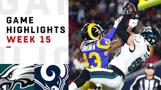 Eagles vs. Rams Week 15 Highlights | NFL 2018