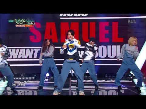 뮤직뱅크 Music Bank - INTRO+Candy - 사무엘 (INTRO+Candy - Samuel).20171117