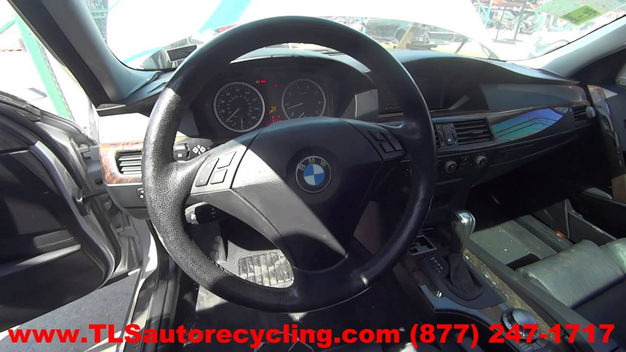 BMW Convertible 545i 2004 bmw Parting Out 2004 BMW 530i - Stock - 6167BK - TLS Auto Recycling