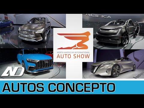Los conceptos de AutoShow de Detroit - NAIAS 2017 I AutoDinámico