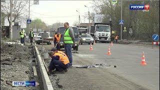 Дорожная техника вышла ещё на несколько улиц Омска