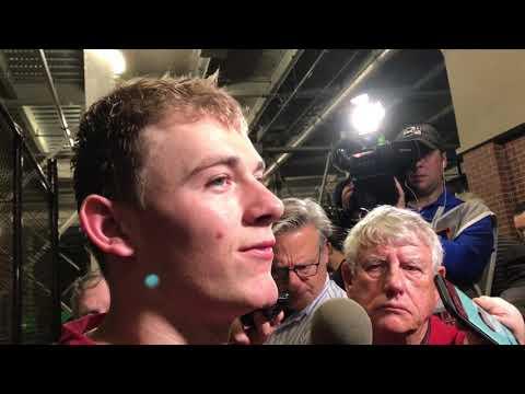 Mac Jones after wild 2019 Iron Bowl loss at Auburn