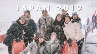 Japan 2019 (First Snow Experience + Surprised Marck!) | Kianna Dy