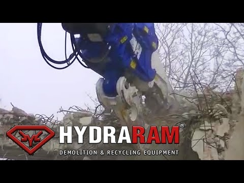 Hydraram MK-50 mounted on Caterpillar 349E Excavator