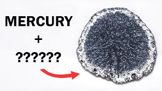 Turning mercury into a weird sponge