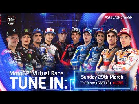 MotoGP? Virtual Race | #StayAtHomeGP