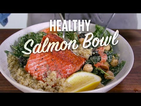 How to Make a Healthy Salmon Bowl | You Can Cook That | Allrecipes.com