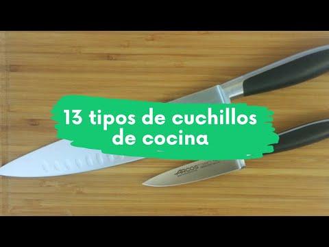 13 Tipos de cuchillos de cocina que debes conocer - Descubre el secreto de los grandes chef al corte
