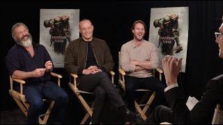 HACKSAW RIDGE interviews - Mel Gibson, Vince Vaughn, Luke Bracey - BRAVEHEART