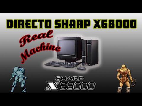 Directo sharp X68000 MIDI SC-55 MT-32 Level 6