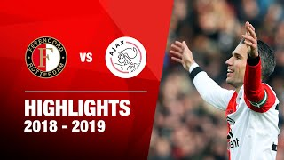 6-2! | Highlights Feyenoord - Ajax | Eredivisie 2018-2019