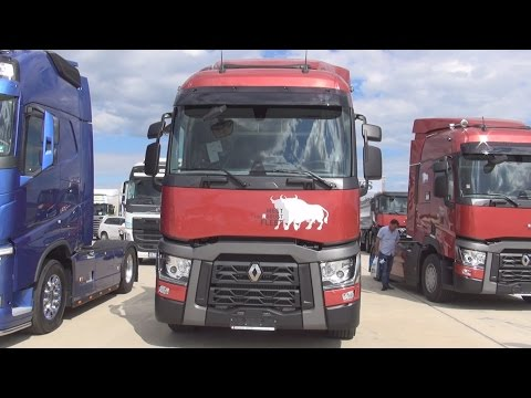 Renault Trucks T 480 Comfort Tractor Truck (2016) Exterior and Interior in 3D
