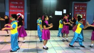 """Baile La Bamba - 1er. Grado """"A"""" Primaria / Joanne Rivera"""
