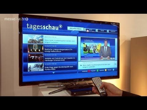 Reportage: Smart-TV - Vereinigung von Fernsehen und Internet