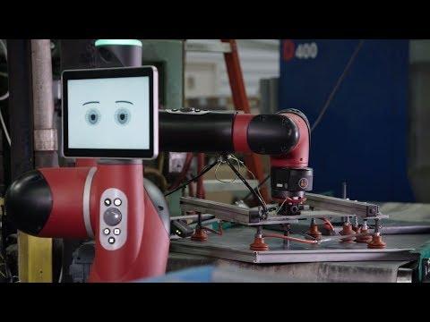 Rethink Robotics' Sawyer at Harrison Manufacturing
