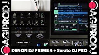 DENON DJ PRIME 4 in action